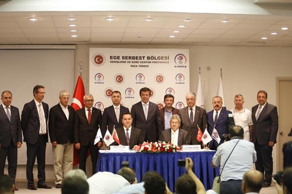 HISTORICAL DAY FOR ESBAS AND THE AEGEAN FREE ZONE