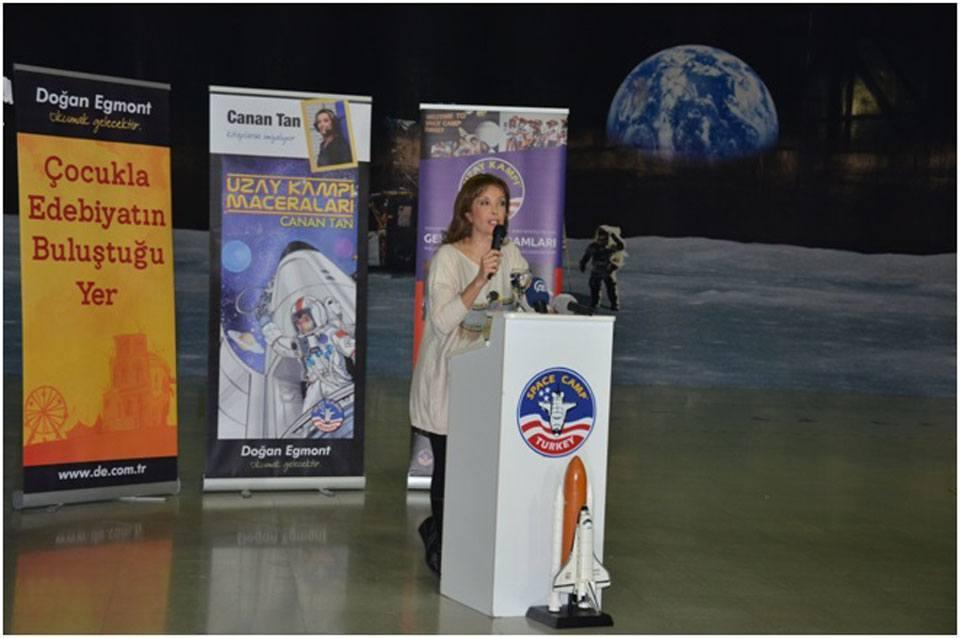 FAMOUS TURKISH AUTHOR, CANAN TAN, WRITES ABOUT SPACE CAMP TURKEY