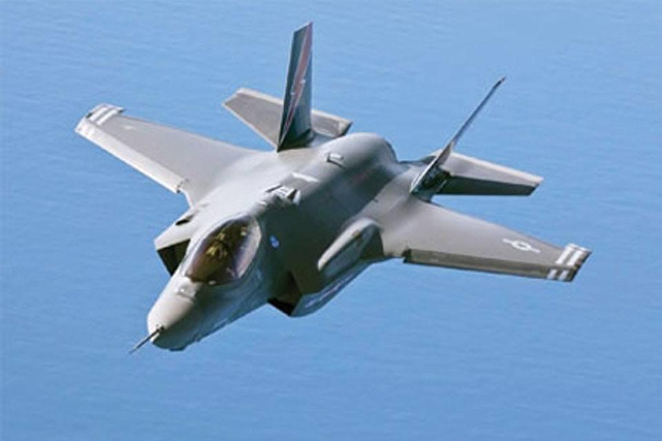 F35'in part 400 will be produced in Turkey