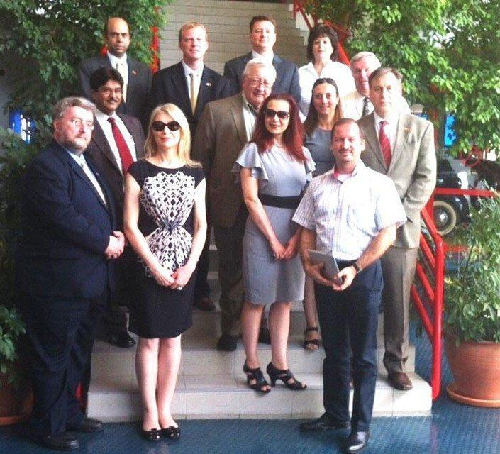 ILLINOIS COMMERCE AND ECONOMY MINISTRY VISITED ESBAS