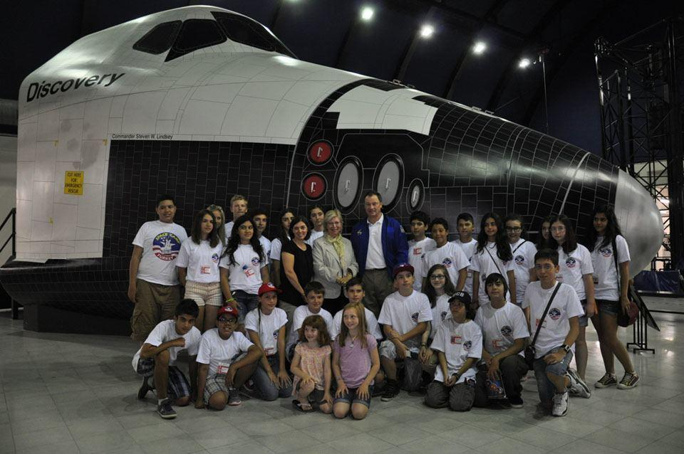 NASA ASTRONAUT MICHAEL LOPEZ-ALEGRIA VISITS SPACE CAMP TURKEY