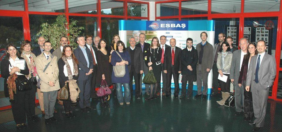 ESBAS CENTER OF INTEREST AMONG FOREIGN DELEGATIONS