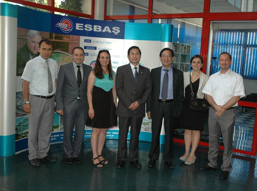 JIANGSU DELEGATION VISITED ESBAS