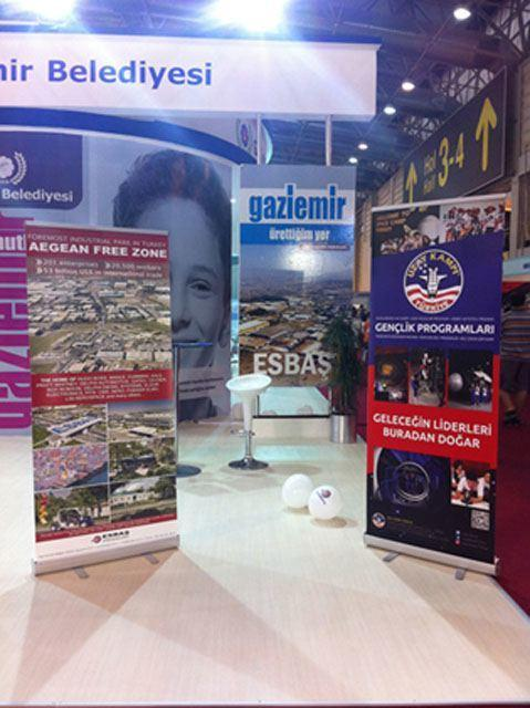 ESBAS PARTICIPATES IN IZMIR INTERNATIONAL FAIR