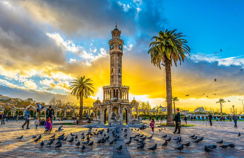The City of IZMIR; Pearl of the Aegean