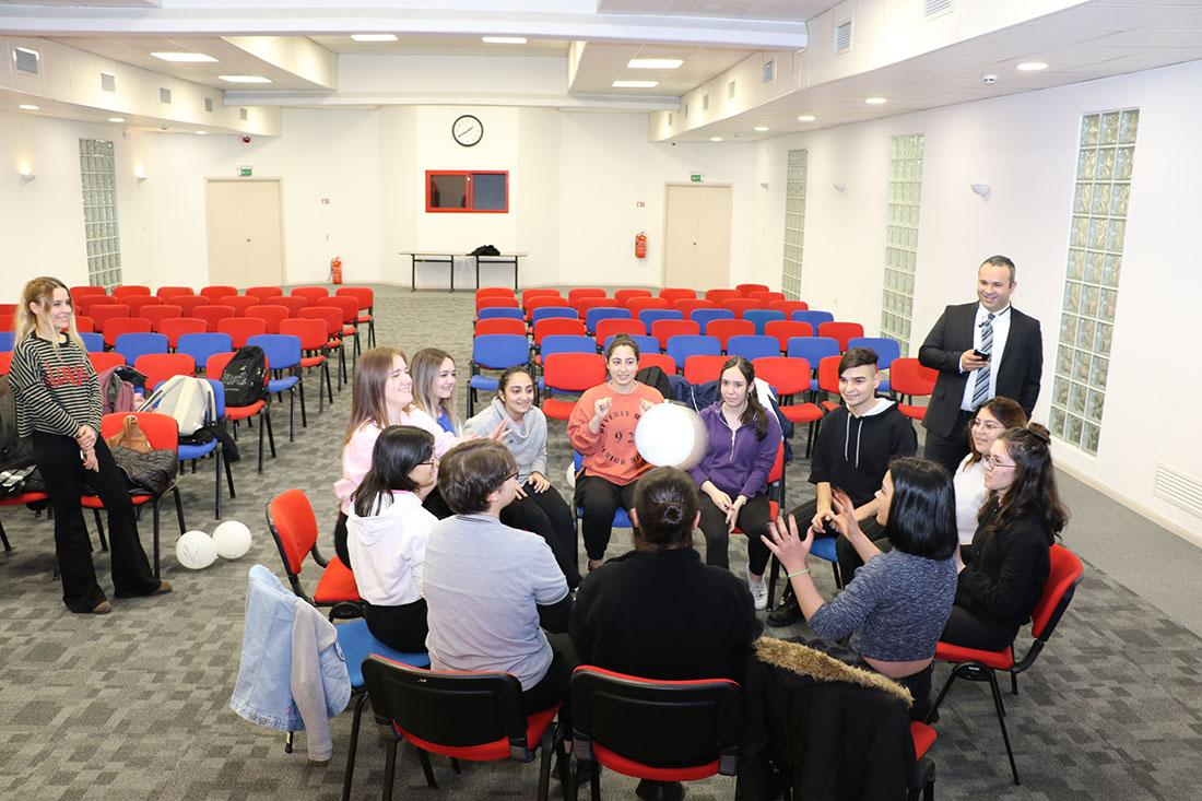ESBAS COACHES PREPARE STUDENTS FOR PROFESSIONAL LIFE